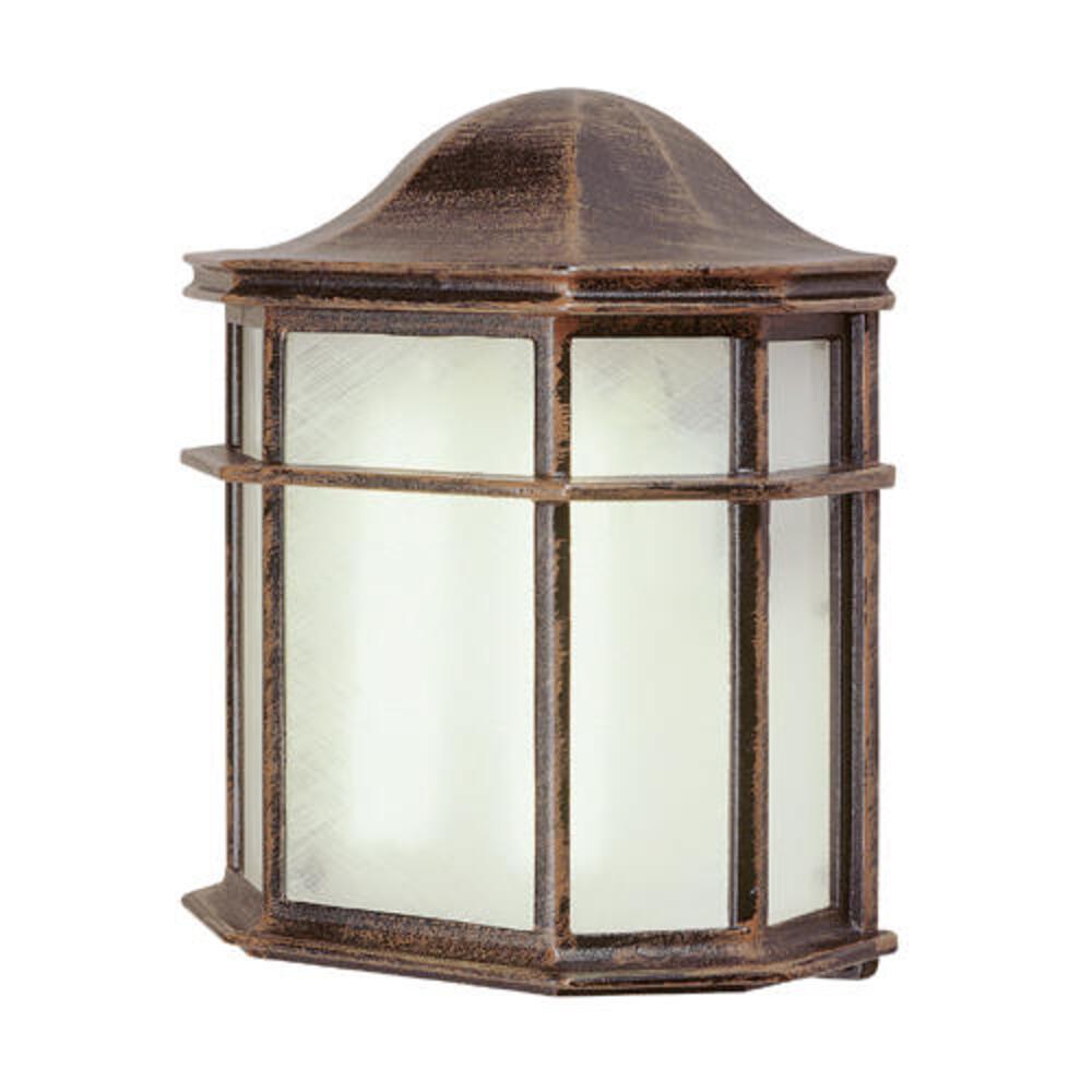 Bel Air Lighting Patio Pocket Rust Outdoor Porch Light At Menards