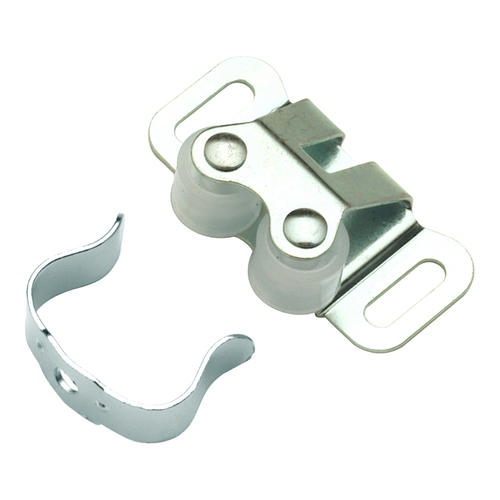 Hickory Hardware Cadmium Double Roller Catch With Clamping ...
