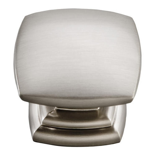 Hickory Hardware® Euro Contemporary Collection Stainless Steel Cabinet Knob
