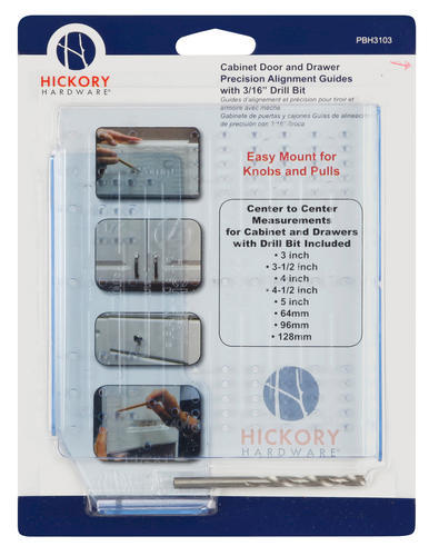 Hickory Hardware Cabinet Door Drawer Alignment Template