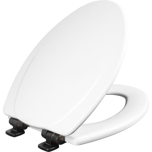 Pleasant Mayfair Elongated White Wood Toilet Seat With Whisper Close Gmtry Best Dining Table And Chair Ideas Images Gmtryco