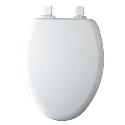 Strange Mayfair Nextstep Child Adult Elongated White Plastic Toilet Evergreenethics Interior Chair Design Evergreenethicsorg