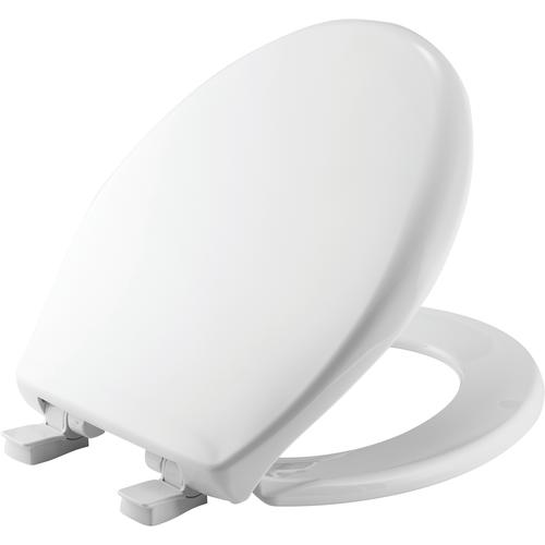 Remarkable Mayfair Round White Plastic Toilet Seat With Easy Clean Pdpeps Interior Chair Design Pdpepsorg