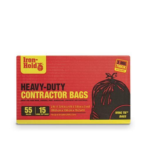 Wing Tie Contractor Trash Bags