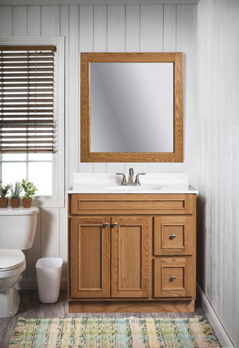 . Briarwood Woodland 36 W x 21 D Bathroom Vanity Cabinet at Menards