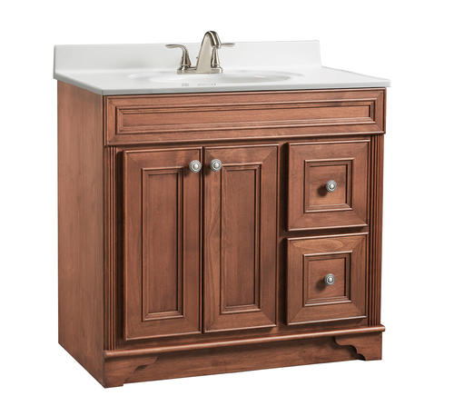 "Briarwood Highland 36""W x 21""D Bathroom Vanity Cabinet at ..."