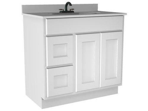 Briarwood Cottage 36 W X 21 D Bathroom Vanity Cabinet At Menards