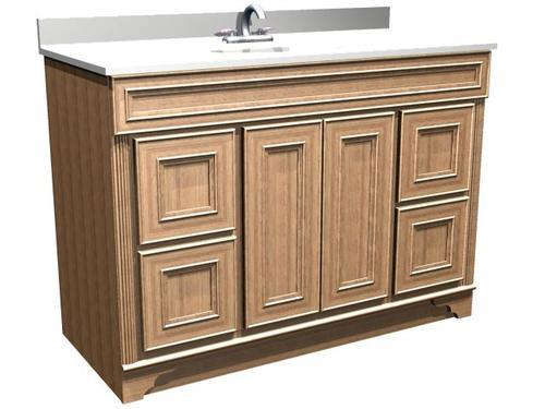 . Briarwood Highland 48 W x 21 D Bathroom Vanity Cabinet at Menards