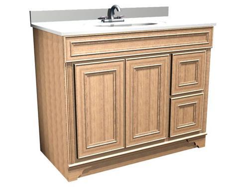Briarwood Highland 42 W X 21 D Bathroom Vanity Cabinet At Menards