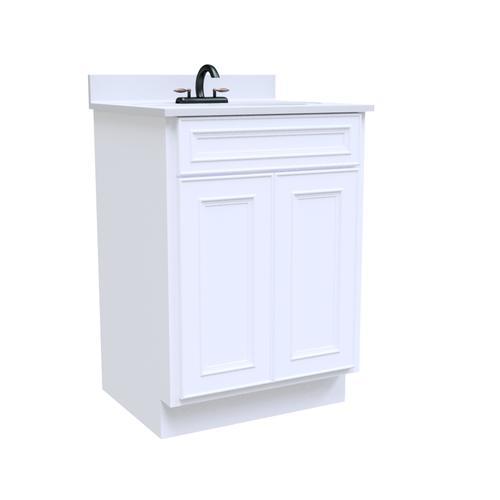 "Briarwood Highpoint 24""W x 21""D x 31""H Vineyard Bathroom Vanity Cabinet"