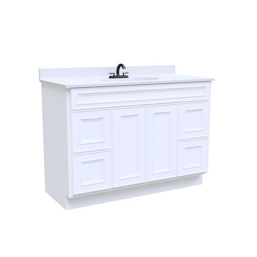 Surprising Briarwood Highpoint 48W X 21D Bathroom Vanity Cabinet At Complete Home Design Collection Epsylindsey Bellcom