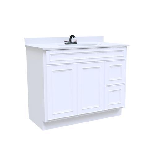 42 Bathroom Vanity Cabinet   Briarwood Highpoint 42 W X 21 D Bathroom Vanity Cabinet At