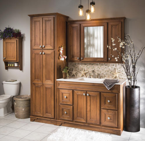 Briarwood highland 48 w x 21 d bathroom vanity cabinet at - Menards bathroom vanities 48 inches ...
