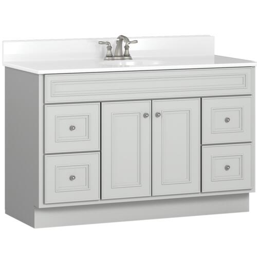 Briarwood Highpoint 48 W X 21 D Bathroom Vanity Cabinet At Menards