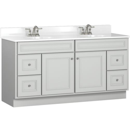 Briarwood Highpoint 60 W X 21 D Bathroom Vanity Cabinet At Menards