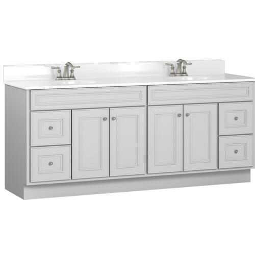 Briarwood Highpoint 72 W X 21 D Bathroom Vanity Cabinet At Menards