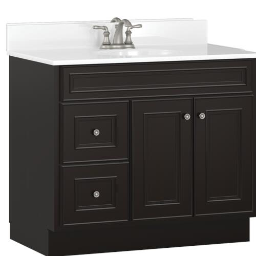 """Briarwood Highpoint 36""""W x 18""""D Bathroom Vanity Cabinet at ..."""