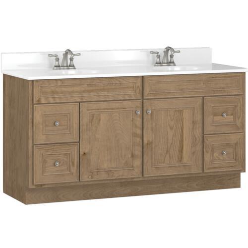 Briarwood Highpoint 60 W X 18 D Bathroom Vanity Cabinet At Menards