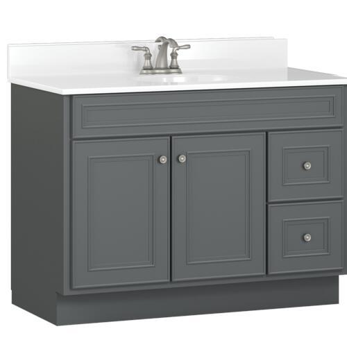 Briarwood Highpoint 42 W X 18 D Bathroom Vanity Cabinet At Menards