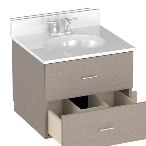 Briarwood Vancouver 24 W X 21 D Bathroom Vanity Cabinet At Menards