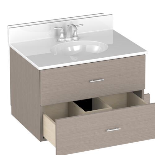 "Briarwood Vancouver 30""W x 21""D Bathroom Vanity Cabinet at ..."