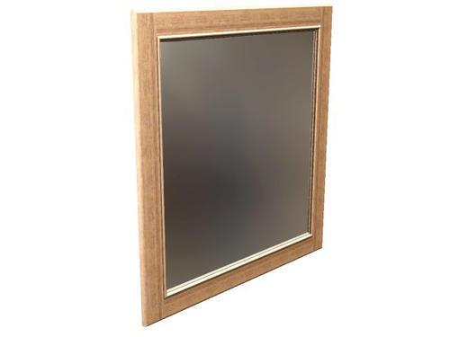 """Briarwood 34""""W x 36""""H Woodland Framed Mirror"""