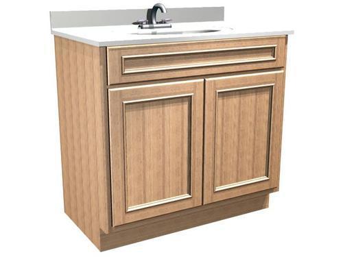 Briarwood Woodland 36 W X 21 D Bathroom Vanity Cabinet At