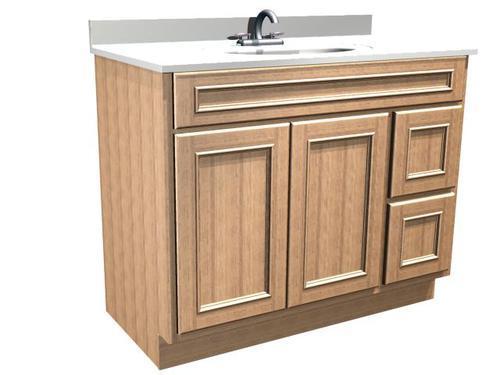 Briarwood Woodland 42 W X 21 D Bathroom Vanity Cabinet At Menards