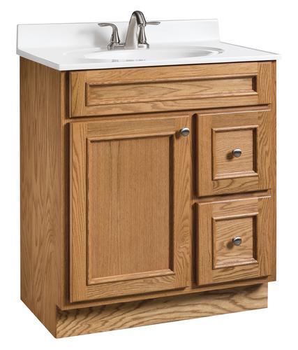 Briarwood Woodland 30 W X 21 D Bathroom Vanity Cabinet At Menards