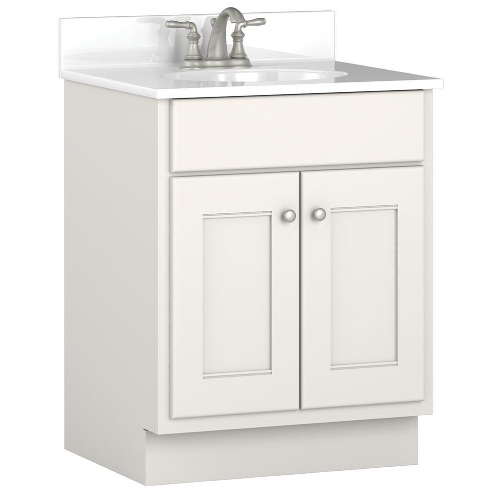 Briarwood Cottage 24 W X 21 D Bathroom Vanity Cabinet At Menards