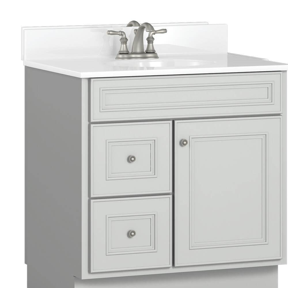 Briarwood Highpoint 30 W X 18 D Bathroom Vanity Cabinet At Menards