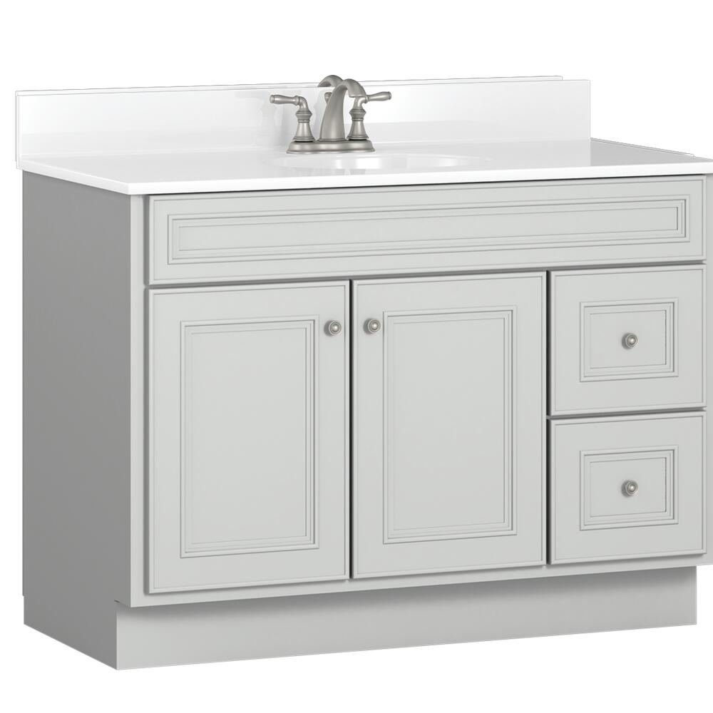 Briarwood Highpoint 42 W X 18 D Bathroom Vanity Cabinet At Menards