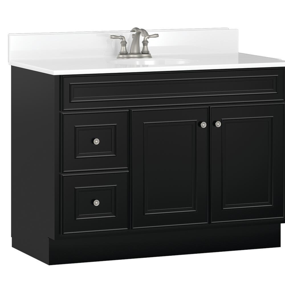 Briarwood Highpoint 42 W X 21 D Bathroom Vanity Cabinet At Menards