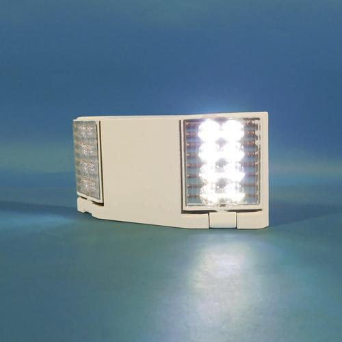 Best Lighting Led Fixed Optics 2 Head Emergency Light With