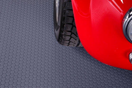 G-Floor Coin 86x22 Garage Floor Mat in Slate Grey