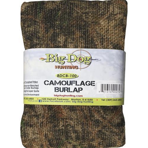 Big Dog Hunting Camouflage Burlap At Menards 174
