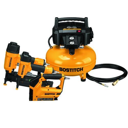 Bostitch 6 Gallon 150 Psi Portable Electric Air Compressor With 3