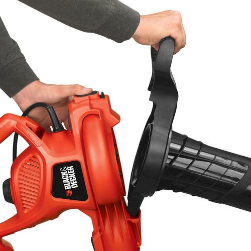 BLACK+DECKER™ 230 CFM 12-Amp Corded Electric Leaf Blower, Vacuum
