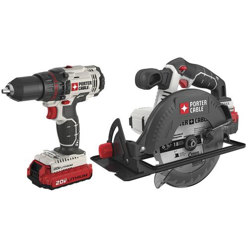 porter cable power tools. porter cable® 20-volt lithium-ion cordless 1/2\ cable power tools