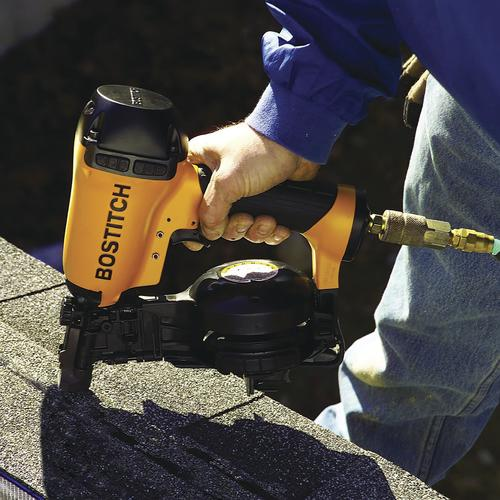 Amazing Bostitch® Pneumatic Coil Roofing Nailer At Menards®