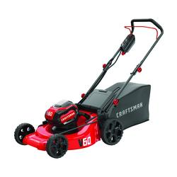 Craftsman 174 V60 21 Quot 60 Volt Cordless Push Lawn Mower At