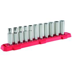 "Deep Socket 3//8/"" Drive 12pt Metric Deep Bi Hex Corrotion Resistant Socket 10mm"
