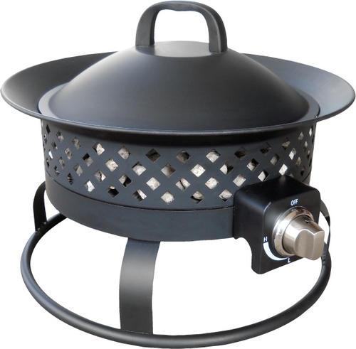 Backyard Creations™ Aurora Steel Gas Firebowl At Menards®