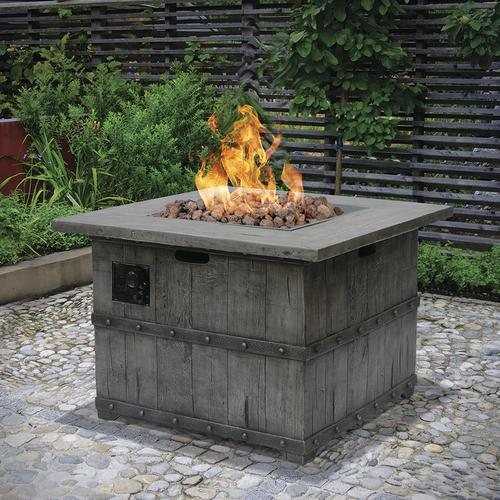 Backyard Creations® Union Pacific Propane Gas Fire Table At Menards®