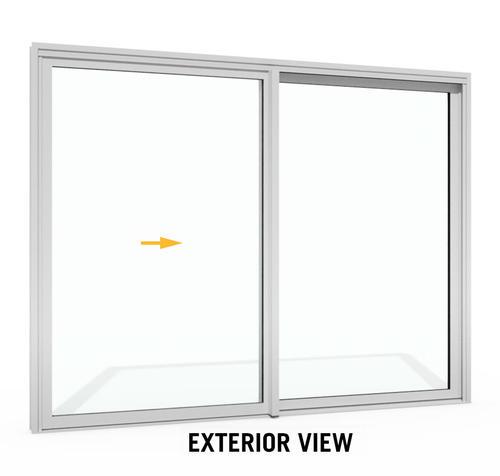 Boyd 5001 Series 120 W X 96 H Aluminum Architectural Grade Patio Door At Menards