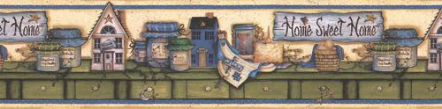 Brewster Kitchen Bath Wallpaper Border At Menards