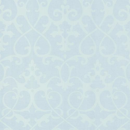 Brewster Light Blue Modern Damask Wallpaper At Menards