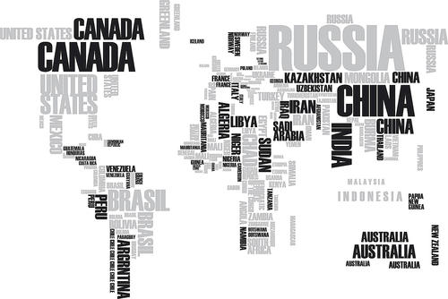 Brewster WallPops World Map Wall Stickers at Menards®