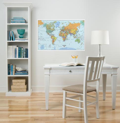 Brewster WallPops World Dry-Erase Map Wall Decal at Menards®
