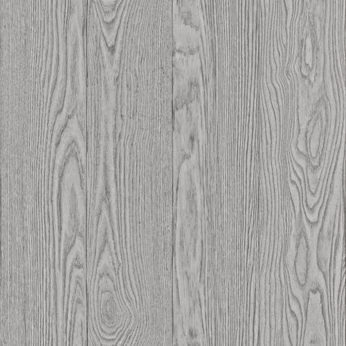 In Home Timber Grey Peel Stick Wallpaper At Menards